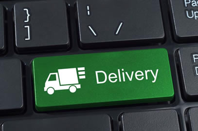 Delivery services online booking and tracking system